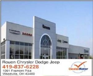 rouen chrysler dodge jeep chrysler dodge jeep ram service center dealership reviews. Black Bedroom Furniture Sets. Home Design Ideas