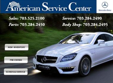Mercedes benz of arlington an american service center for Mercedes benz north america customer service