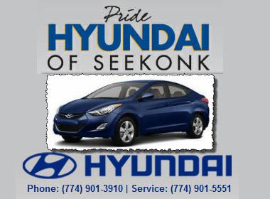 Pride Hyundai Of Seekonk Hyundai Service Center
