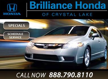 Brilliance honda of crystal lake honda service center for Brilliance honda crystal lake