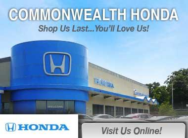 Commonwealth Honda Honda Service Center Dealership Ratings