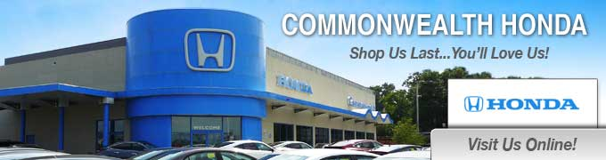 Commonwealth Honda Honda Service Center Dealership Ratings