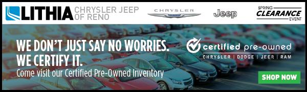 lithia chrysler jeep of reno chrysler jeep service center dealership ratings. Black Bedroom Furniture Sets. Home Design Ideas