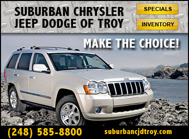 Suburban Chrysler Dodge Jeep Ram Of Troy Chrysler Dodge