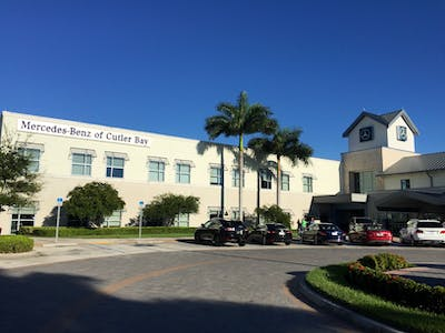 Mercedes benz of cutler bay mercedes benz service for Mercedes benz of cutler bay