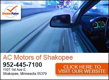 Ac motors of shakopee used car dealer service center for Ac motors shakopee mn