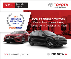 dch freehold toyota toyota used car dealer service center dealership ratings. Black Bedroom Furniture Sets. Home Design Ideas