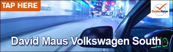 david maus volkswagen south volkswagen service center dealership ratings