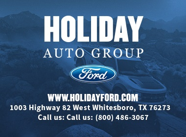 Holiday Chevrolet Whitesboro Texas >> Holiday Ford - Ford, Service Center - Dealership Ratings