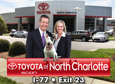 toyota of north charlotte toyota service center dealership ratings. Black Bedroom Furniture Sets. Home Design Ideas