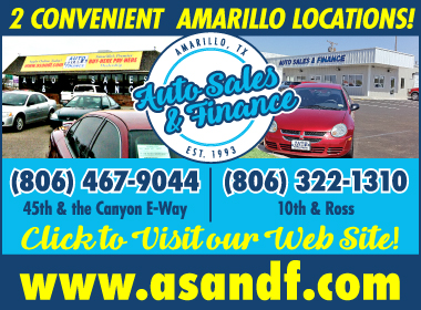 Auto sales finance employees for Integrity motors amarillo tx