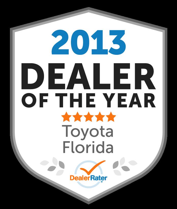 AutoNation Toyota Winter Park Service Center Awards. Awards