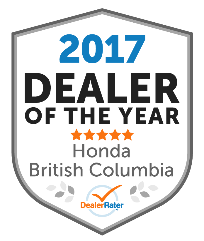 Top Honda Dealer in BC 2019