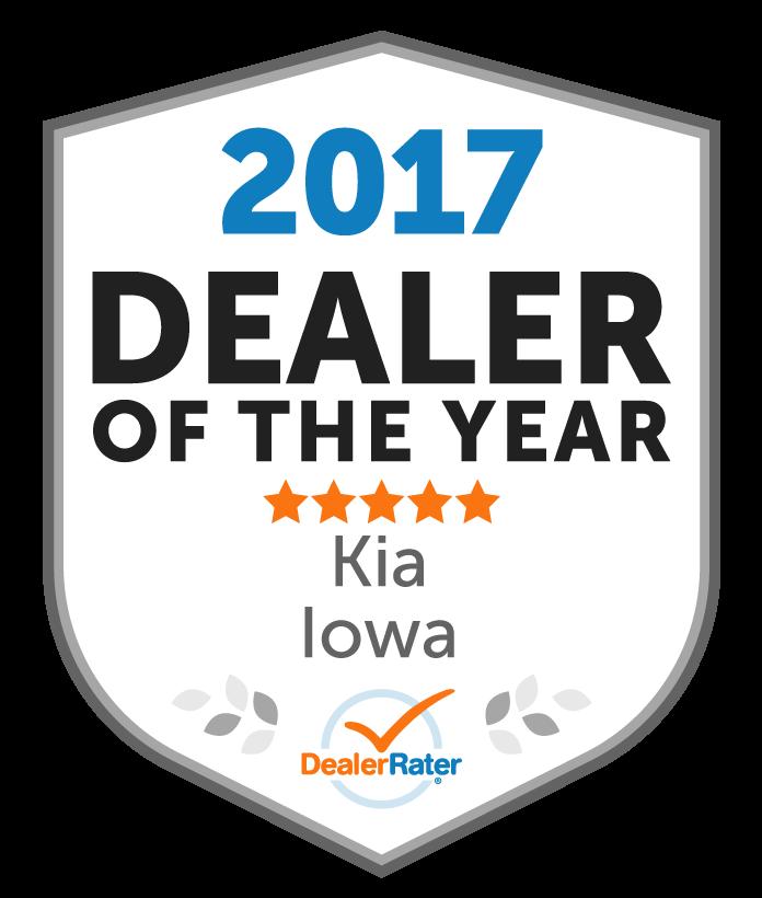 Kia Of Des Moines Awards. Awards