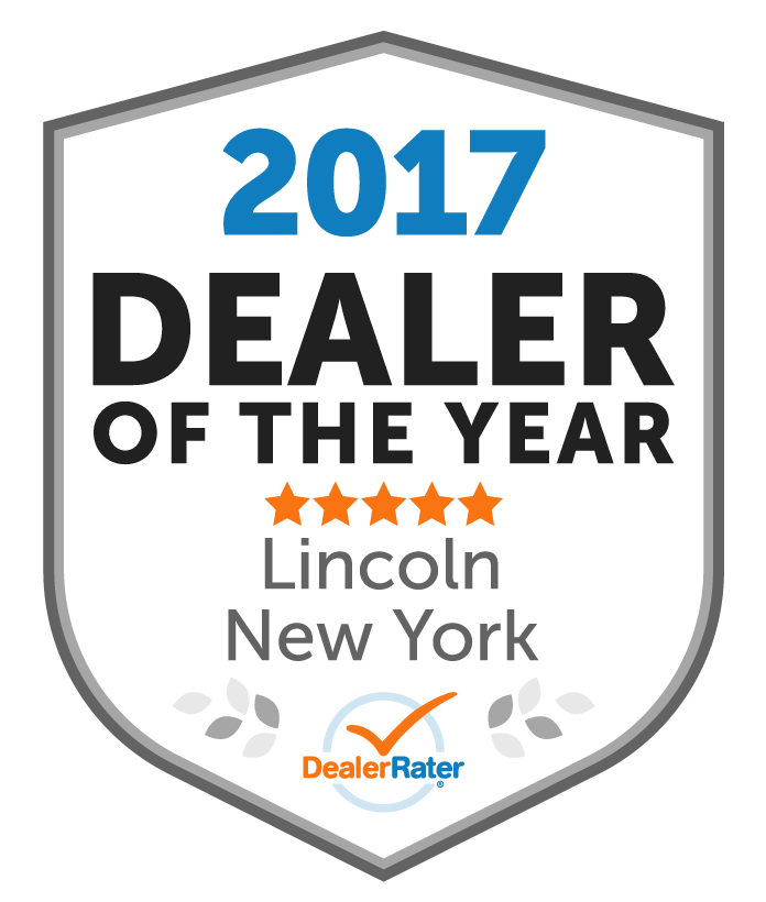 DealerRater 2017 Dealer of the Year Award