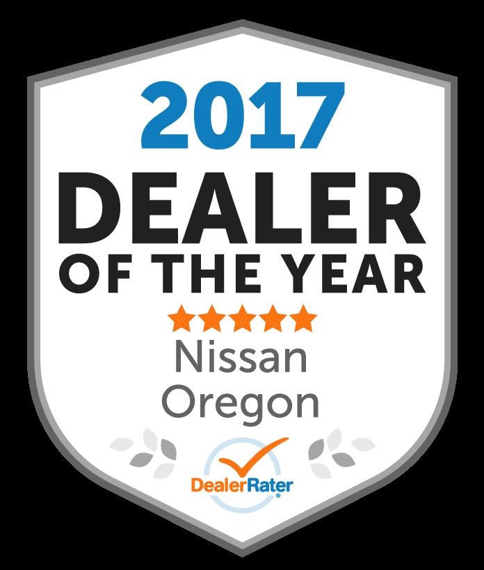 Lithia Nissan Of Eugene Awards. Awards