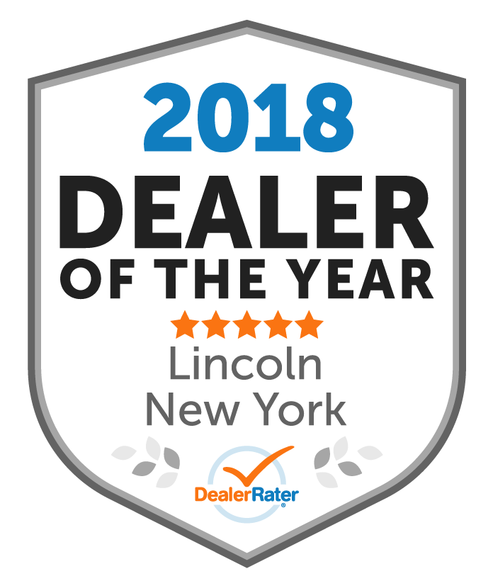 DealerRater 2018 Dealer of the Year Award