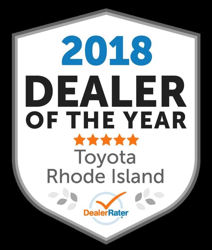 Balise Toyota Scion Of Warwick Awards. Awards
