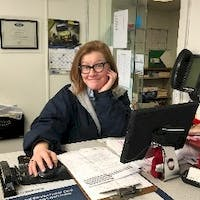 Louisea Miers-Martin at Newins Bay Shore Ford - Service Center
