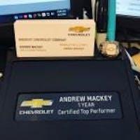Andrew Mackey at Nimnicht Chevrolet