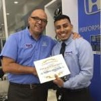 Francisco Garduno at Norm Reeves Honda Superstore Cerritos