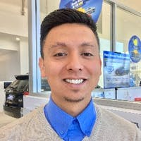 Eddie  Laguna  at Norm Reeves Honda Superstore Cerritos