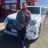 Franky Sanchez at AR1 Auto Sales