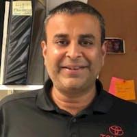 Vik Patel at Oakbrook Toyota In Westmont