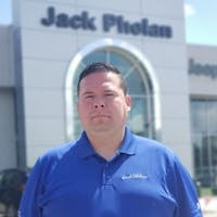 Tino Guzman at Jack Phelan Chrysler Dodge Jeep RAM