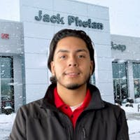 Jorge Rios at Jack Phelan Chrysler Dodge Jeep RAM