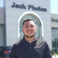 Ruben  Mendoza at Jack Phelan Chrysler Dodge Jeep RAM