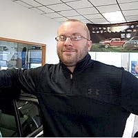 Kyle White at Shields Auto Center