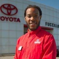 Malik Butler at Fuccillo Toyota of Grand Island