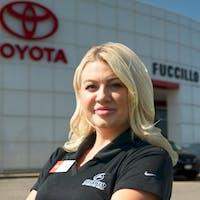 Carly Knight at Fuccillo Toyota of Grand Island
