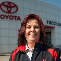 Lisa Marino at Fuccillo Toyota of Grand Island