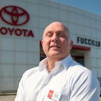 Donnie DiPalma  at Fuccillo Toyota of Grand Island