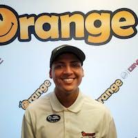 Ruben Guzman jr. at Orange Buick GMC