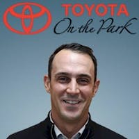 Richard Teeuwen at Toyota On the Park