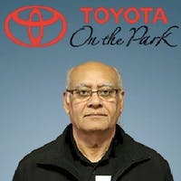 Nazir Shivji at Toyota On the Park