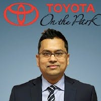 Peter D'Costa at Toyota On the Park