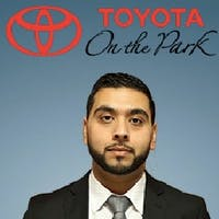 Salman Hasan at Toyota On the Park