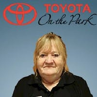 Sharon McGale at Toyota On the Park