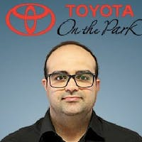 Matt  Dezfuli at Toyota On the Park
