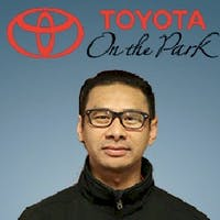 Mark Villasuerte at Toyota On the Park