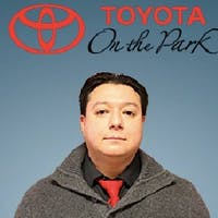 Javier Caicedo at Toyota On the Park