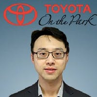 Edward  Cheng at Toyota On the Park