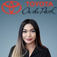 Angela Lazaro at Toyota On the Park