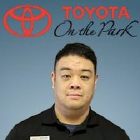 Alex Chan at Toyota On the Park