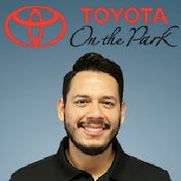 Ricardo Garcia at Toyota On the Park