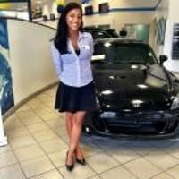 Andrea  Lopez at Lou Sobh Honda